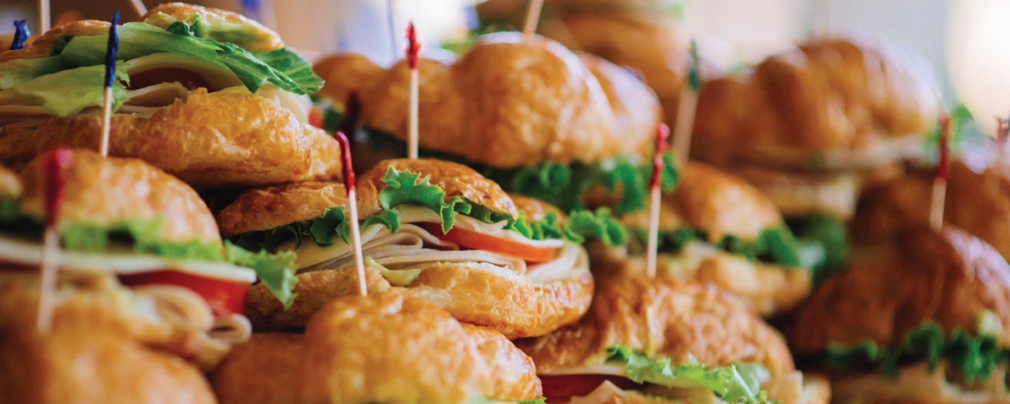 Sandwich party tray